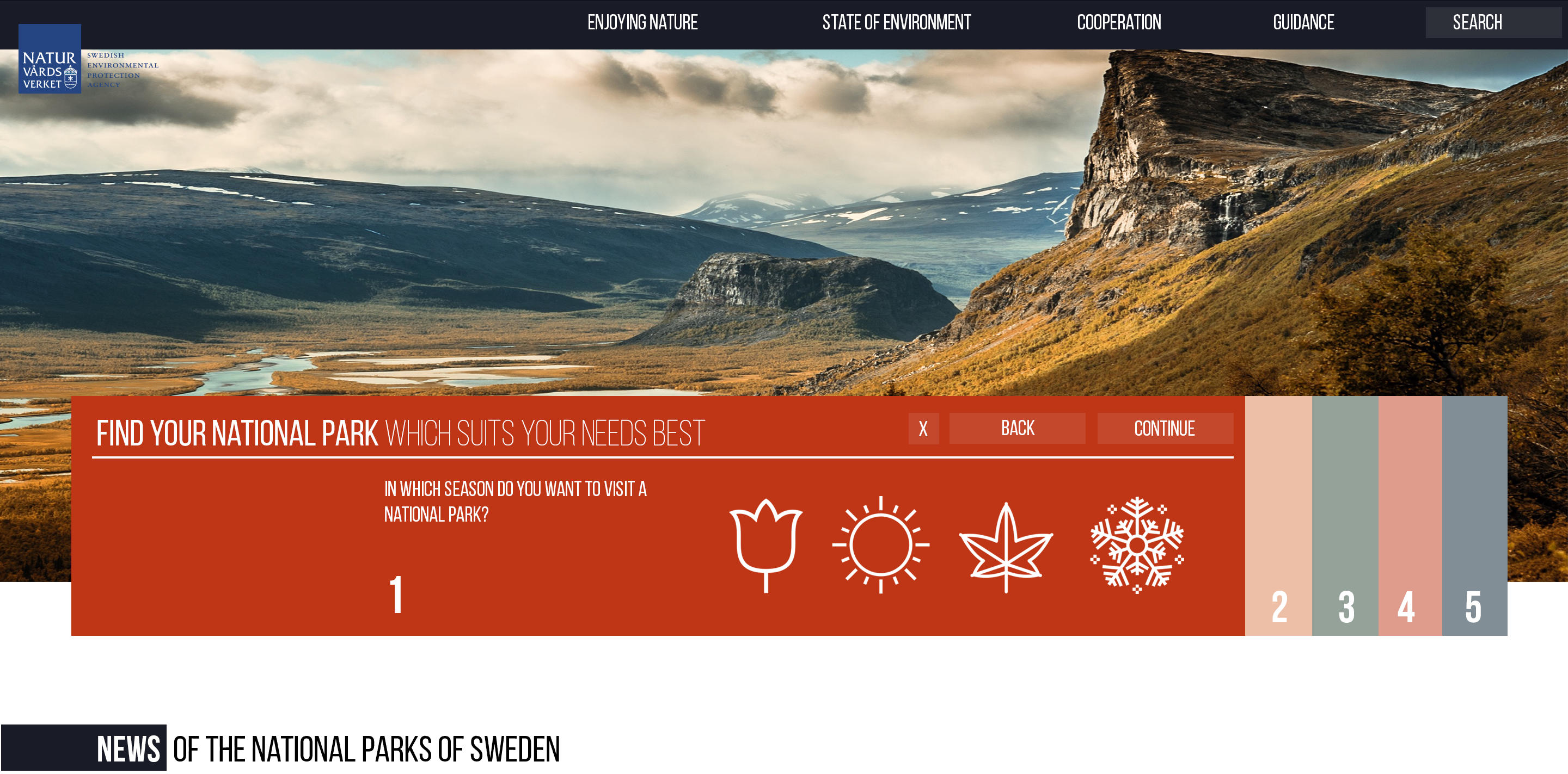 Redesign Website swedishepa.se